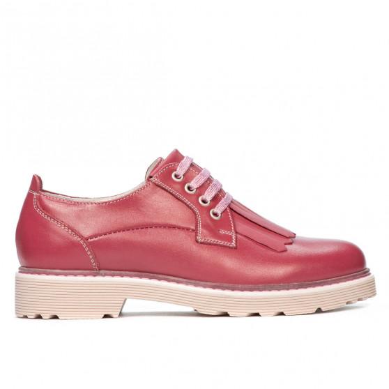 Pantofi casual dama 6025 rosa