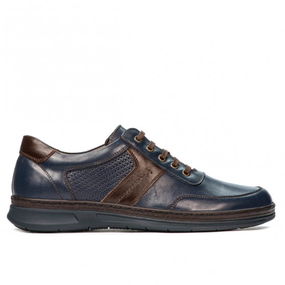 Pantofi casual/sport barbati 919 indigo combinat