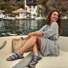 Sandale dama 5069 albastru electric lifestyle