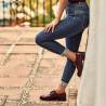 Pantofi casual dama 6020 lac bordo lifestyle