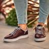 Men sport shoes 913 bordo