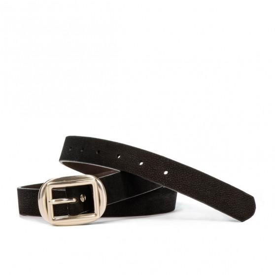 Women belt 20m bufo black