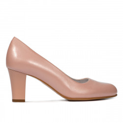 Women stylish, elegant shoes 1209 pudra pearl