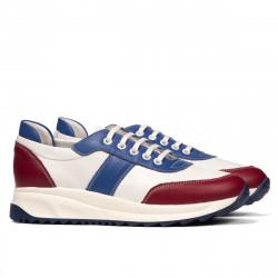 Pantofi sport dama 6030 ciclam+alb