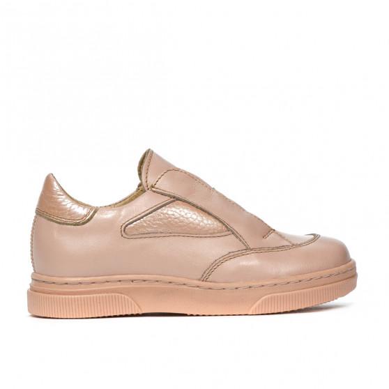 Pantofi copii mici 70c pudra combinat