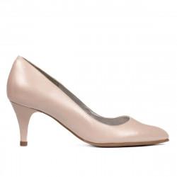 Women stylish, elegant shoes 1242 nude