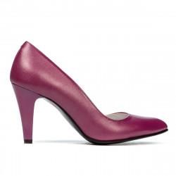 Pantofi eleganti dama 1234 ciclam sidef