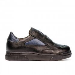 Pantofi copii mici 70c negru combinat