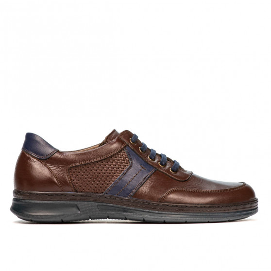 Pantofi casual/sport barbati 919 maro combinat