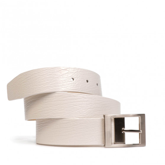 Women belt 02m white