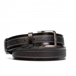 Men belt 16b black combined