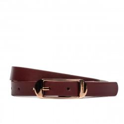 Women belt 03m burgundy