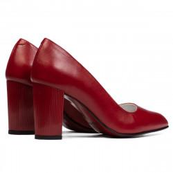 Women stylish, elegant shoes 1278 red