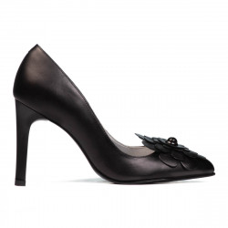 Women stylish, elegant shoes 1282 black
