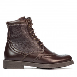 Men boots 4112-1 cafe