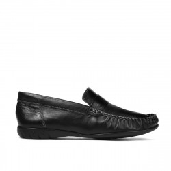 Women loafers, moccasins 189 black