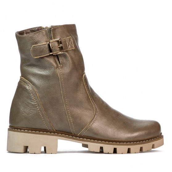 Women boots 3297 sand pearl