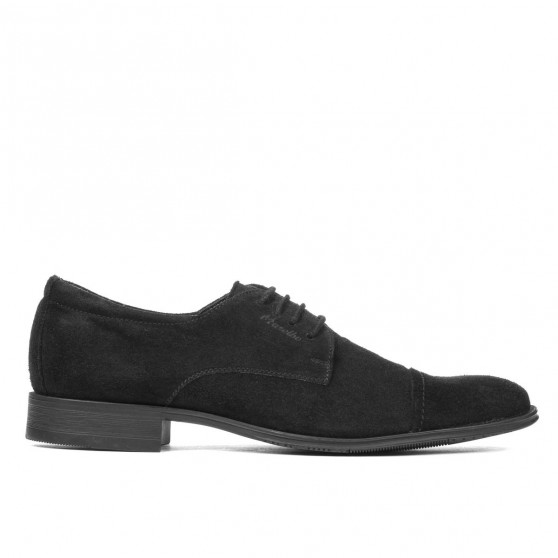Teenagers stylish, elegant shoes 388 black velour
