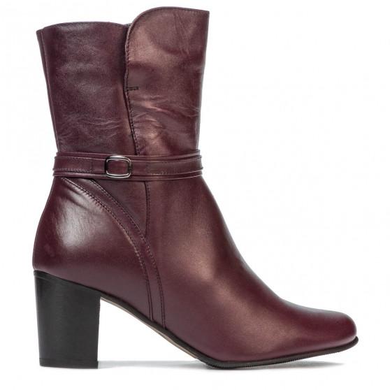 Women boots 1156 bordo