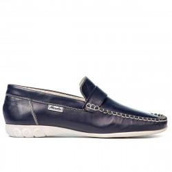 Women loafers, moccasins 189 indigo
