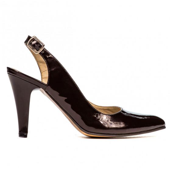 Women sandals 1236 patent cafe