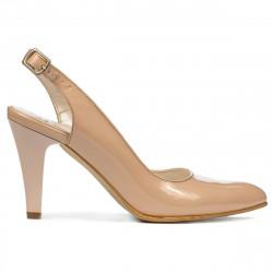 Sandale dama 1236 lac ivoriu