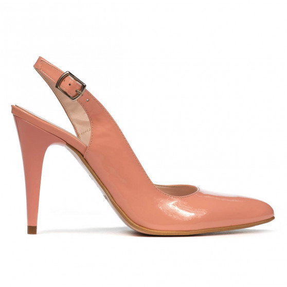Women sandals 1249 patent pink