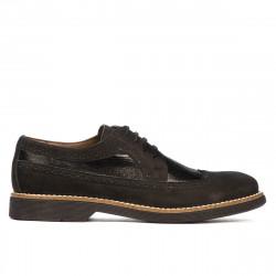 Pantofi casual barbati 829 bufo negru combinat
