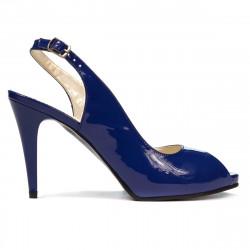 Sandale dama 1250 lac albastru