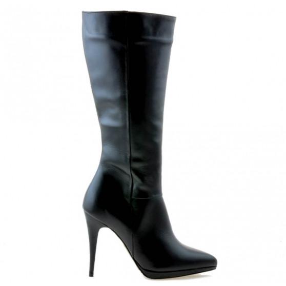 Women knee boots 1158 black