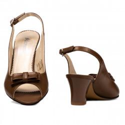 Sandale dama 1251 capucino