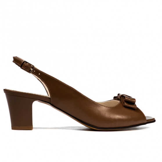 Women sandals 1251 cappuccino