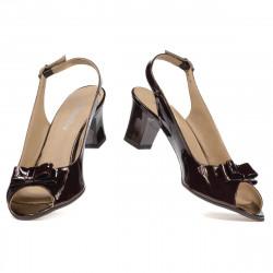 Sandale dama 1251 lac cafe