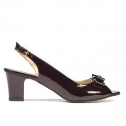 Women sandals 1251 patent cafe