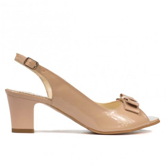 Sandale dama 1251 lac ivoriu