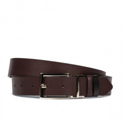 Women belt 22m bordo+black