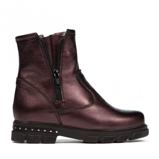 Children boots 3020 purple pearl