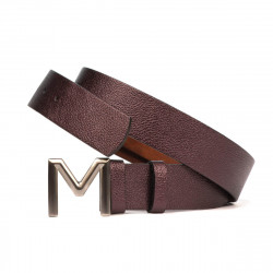 Women belt 08m biz purple