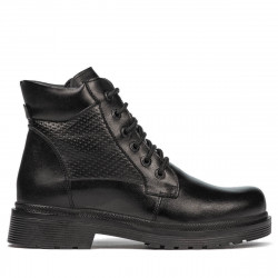 Teenagers boots 4007 black combined