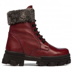 Children boots 3022 bordo