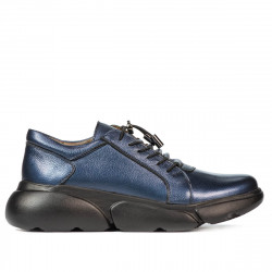 Pantofi casual dama 6032 indigo sidef