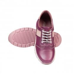 Pantofi copii 2005 ciclame sidef+roz