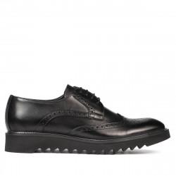 Men casual shoes 831 black
