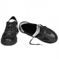 Pantofi sport 928 negru combinat