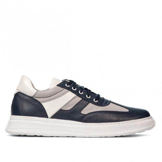 Pantofi casual/sport barbati 928 indigo combinat