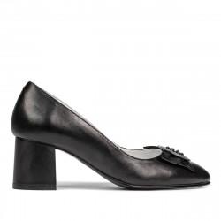 Women stylish, elegant shoes 1274 black