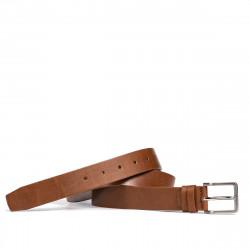 Men belt 48b brown