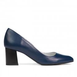 Women stylish, elegant shoes 1283 indigo
