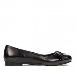 Balerini dama 6033 negru combinat