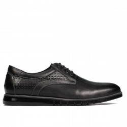 Pantofi casual 929 black combined